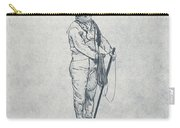 Deep Sea Diver - Nautical Design Carry-all Pouch by World Art Prints And Designs