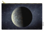 Deep Space Planet Kepler-20f Carry-all Pouch by Movie Poster Prints