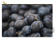 Deeply Damson Carry-all Pouch by Anne Gilbert