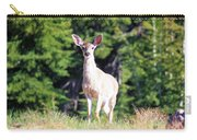 Deer Approaching Carry-all Pouch