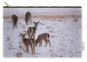 Deer At Dusk Carry-all Pouch
