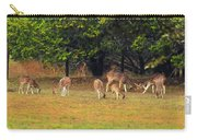 Deer At Play Carry-all Pouch