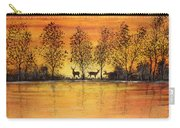 Deer At Sunset-2 Carry-all Pouch
