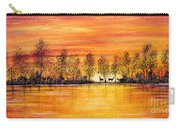 Deer At Sunset Carry-all Pouch