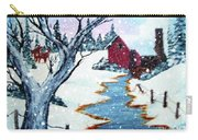 Deer At The Grist Mill Carry-all Pouch