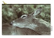 Deer Close-up Carry-all Pouch
