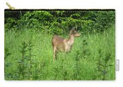 Deer In Field Carry-all Pouch