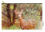 Deer In Forest Carry-all Pouch