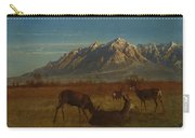 Deer In Mountain Home Carry-all Pouch