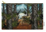 Deer In Pine Forest Carry-all Pouch