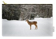 Deer In Road Carry-all Pouch
