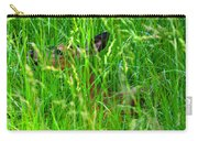 Deer In Tall Grass Carry-all Pouch