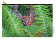 Fawn In The Ferns Carry-all Pouch