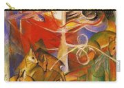 Deer In The Forest 1913 Carry-all Pouch