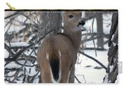Deer In The Grove Carry-all Pouch