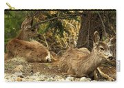 Deer In The Rockies Carry-all Pouch