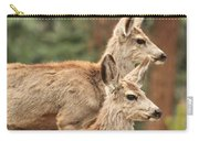 Deer In The Rocky Mountains Carry-all Pouch