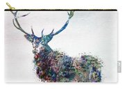 Deer In Watercolor Carry-all Pouch