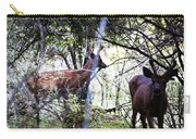 Deer Looking For Food Carry-all Pouch