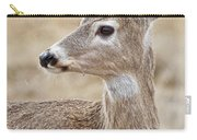 White Tail Deer Profile Carry-all Pouch