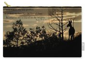 Deer Silhouette Carry-all Pouch
