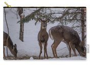 Deer With A Leg Up Carry-all Pouch