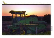 Deere At Dusk Carry-all Pouch