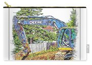 Deere For Hire2 - Excavator - Digger Carry-all Pouch