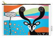 Deery Me Carry-all Pouch by Susan Claire