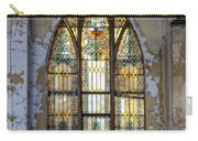 Defiant Stain Glass Church Window #1 Carry-all Pouch