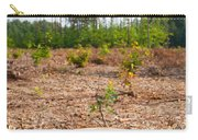 Woods Logging One Stump After Deforestation  Carry-all Pouch