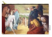 Degas' Alexander And Bucephalus Carry-all Pouch
