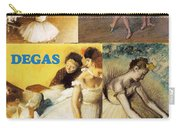 Degas Collage Carry-all Pouch