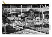 Del Marcos Pool Bw Palm Springs Carry-all Pouch