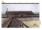 Del Monte Bathhouse From Pier California  Circa 1890 Carry-all Pouch
