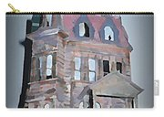 Delapitated Victorian Mansion Carry-all Pouch