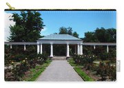 Delaware Park Rose Garden And Pergola Buffalo Ny Oil Painting Effect Carry-all Pouch
