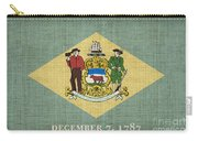 Delaware State Flag Carry-all Pouch by Pixel Chimp