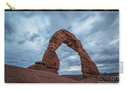 Delicate Arch Blue Hour Carry-all Pouch