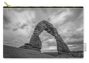 Delicate Arch Bw Carry-all Pouch
