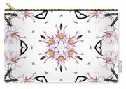 Delicate Cherry Blossom Fractal Kaleidoscope Carry-all Pouch