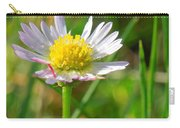Delicate Daisy In The Wild Carry-all Pouch