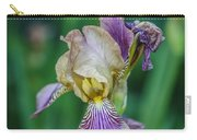 Delicate Iris Carry-all Pouch