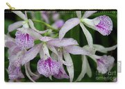 Delicate Orchid Blossoms Carry-all Pouch