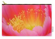 Delicate Pink Cactus Flower Carry-all Pouch