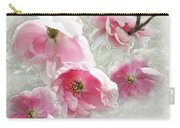 Delicate Tree Peonies Branching Out Carry-all Pouch