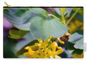 Delicate Yellow Flowers Carry-all Pouch