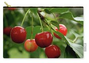 Delicious Cherries Carry-all Pouch by Sandy Keeton