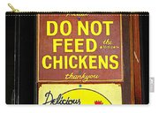 Delicious Chicken Dinners Sign Carry-all Pouch