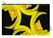 Delightful Daffodil Abstract Carry-all Pouch